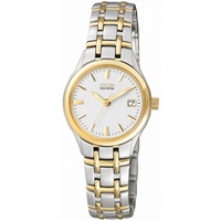 Buy Citizen Ladies Eco-Drive 2 Tone Steel Bracelet Watch EW1264-50A online