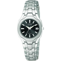 Buy Citizen Ladies Titanium Eco-Drive Watch EW1400-53H online