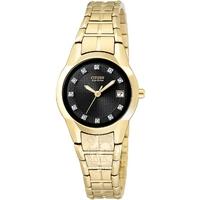 Buy Citizen Ladies Eco-Drive Diamond Watch EW1412-54G online