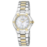 Buy Citizen Ladies 2 Tone Eco-drive 180 Watch EW1534-57D online