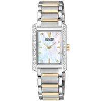 Buy Citizen Ladies Palidoro 2 Tone Steel Bracelet Watch EX1134-59D online