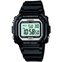 Buy Casio Gents Digital Black Rubber Strap Watch F-108WHC-1AEF online