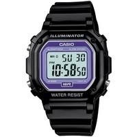 Buy Casio Gents Alarm Chronograph Black Watch F-108WHC-1BEF online