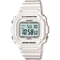 Buy Casio Gents Illuminator White Resin Strap Watch F-108WHC-7BEF online