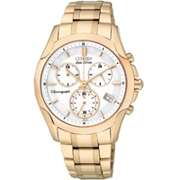 Buy Citizen Ladies Sports Chronograph Rose Gold Tone Watch FB1153-59A online
