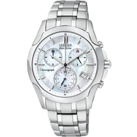 Buy Citizen Ladies Sports Chronograph Stainless Steel Watch FB1158-55D online