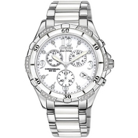 Buy Citizen Ladies Ceramic and Steel Bracelet Watch FB1230-50A online