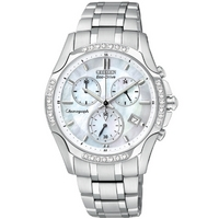 Buy Citizen Ladies Sport Chronograph Stainless Steel Watch FB1250-52D online