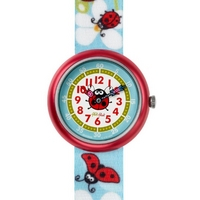 Buy Flik Flak Girls Kalinka Material Strap Watch FBN063 online