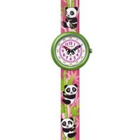 Buy Flik Flak Girls Colourful Panda Rubber Strap Watch FBN087 online