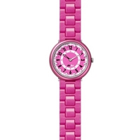 Buy Flik Flak Girls Sola Porpora Pink Rubber Strap Watch FCN024 online