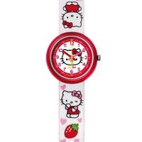 Buy Flik Flak Girls Hello Kitty Material Strap Watch FLN027-STD online
