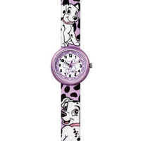 Buy Flik Flak Girls 101 Dalmations Material Strap Watch FLN053 online