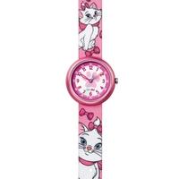 Buy Flik Flak Disneys Aristocats Marie Material Strap Watch FLN054 online
