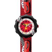 Buy Flik Flak Childrens Lightning McQueen Strap Watch FLS019 online