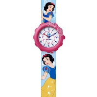 Buy Flik Flak Girls Colourful Snow White Resin Strap Watch FLS028 online