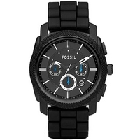 Buy Fossil Gents Decker Black Bracelet Chronograph Watch FS4552 online