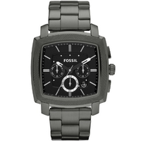 Buy Fossil Gents Machine Black Steel Bracelet Watch FS4719 online