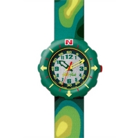 Buy Flik Flak Camo Childrens Watch FTS011 online