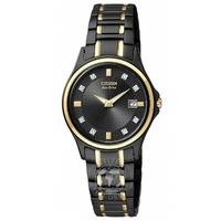 Buy Citizen Ladies Eco-Drive Watch GA1038-56G online