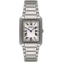 Buy Rotary Gents Silver Tone Bracelet Watch GB02605-01 online