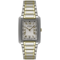 Buy Rotary Gents 2 Tone Steel Bracelet Watch GB02606-21 online