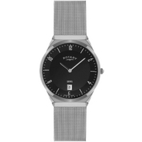 Buy Rotary Gents Mesh Silver Tone Bracelet Watch GB02609-04 online