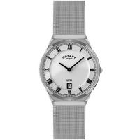 Buy Rotary Gents Mesh Silver Tone Bracelet Watch GB02609-21 online