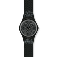 Buy Swatch Gents Time Never Dies Black Watch GM180 online