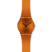 Buy Swatch Ladies Deep Orange Watch GO111 online