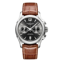 Buy Hamilton Jazzmaster Chronograph Strap Watch H32606585 online