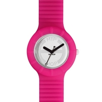 Buy Hip Hop Unisex Hero Fluorescent Pink Strap Watch HWU0022 online