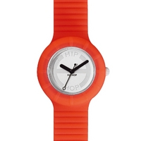 Buy Hip Hop Unisex Hero Fluorescent Orange Strap Watch HWU0023 online
