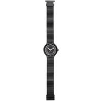 Buy Hip Hop Unisex Crystal Black Tie Strap Watch HWU0069 online