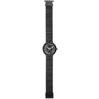 Buy Hip Hop Unisex Crystal Black Tie Strap Watch HWU0069 online