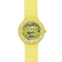 Buy Hip Hop Unisex Ghost Yellow Strap Watch HWU0094 online
