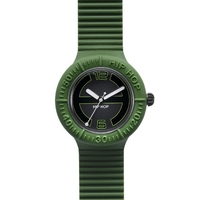 Buy Hip Hop Unisex Large Green Strap Watch HWU0118 online