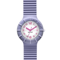 Buy Hip Hop Unisex Numbers Fairy Violet Strap Watch HWU0126 online