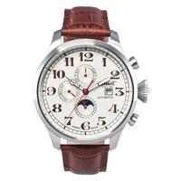 Buy Ingersoll Gents Buffalo Brown Leather Strap Watch IN1616CR online