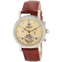 Buy Ingersoll Richmond Automatic Brown Leather Strap Watch IN1800CR online
