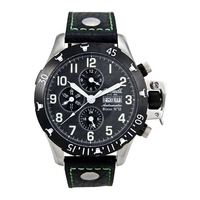 Buy Ingersoll Gents Automatic Black Leather Chronograph Watch online