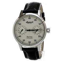 Buy Ingersoll Sitting Bull Automatic Black Leather Strap Watch IN4402CH online