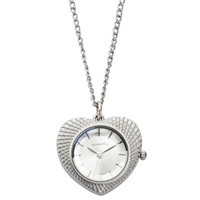 Buy Accessorize Ladies Aluminium Heart Pendant Watch J1090 online