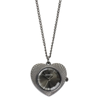 Buy Accessorize Ladies Aluminium Heart Pendant Watch J1092 online