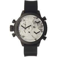 Buy Welder Gents Silver Tone Dial Black Rubber Strap K29-8000 online