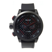 Buy Welder Gents Black Dial Black Rubber Strap K31-10001 online