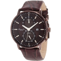 Buy Kenneth Cole Gents Chronograph Brown Strap Watch KC1778 online