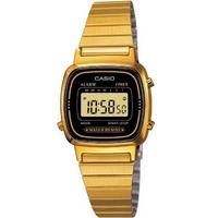 Buy Casio Ladies Gold Tone Digital Watch LA-670WEGA-1EF online