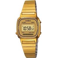 Buy Casio Ladies Gold Tone Digital Watch LA-670WEGA-9EF online