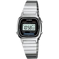 Buy Casio Ladies Silver Tone Digital Watch LA670WEA-1EF online